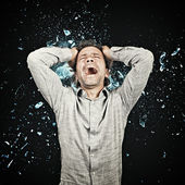 Mind explosion — Stock Photo