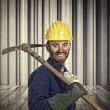 Smiling miner — Stock Photo #60078625