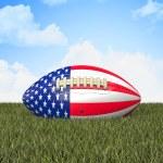 American football ball — Stock Photo #61270507