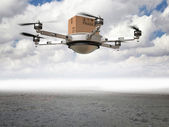 Drone delivery — Stock Photo