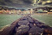 Ville de mer — Photo