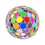 Colors globe — Stock Photo #74497041