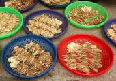 Chinese Herbs Drying in the Sun — Stock Photo