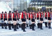 Student Dancers Peform for the Dragon Boat Festival — Stock Photo