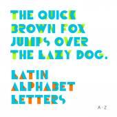 Geometric shapes alphabet letters. Retro font. Latin alphabet le — Stock Vector
