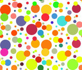 抽象多彩圆圈背景 — 图库矢量图片