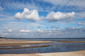 Clouds over Baltic sea. — Stock Photo