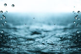Rain drops. — Stock Photo