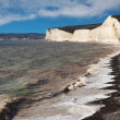 Seven Sisters clifs, England, UK. — Stock Photo #56802763