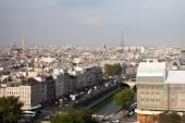 Roofs of Paris, France. — Стоковое фото