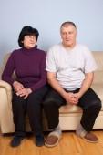Senior couple. — Stock Photo