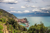 Vernazza, Cinque Terre, Italyy. — Stock Photo