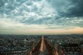 Evening in Paris, France. — Stock Photo