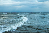Windy day in Baltic sea. — Stock Photo