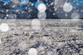 Icy Baltic sea. — Stock Photo