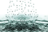 Splashing water. — Stock Photo