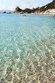 Mediterranean sea at north Sardinia, Italy. — Stock Photo