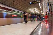 Bilbao underground station, Spain. — Stock Photo