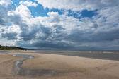 Baltic sea coast in Latvia. — Stock Photo