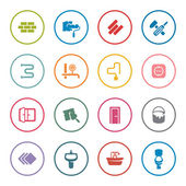 Home repair icon set — Stock Vector