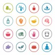 Spa icon set — Stock Vector #61900041