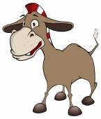 Funny burro — Stock Vector