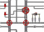 Pipeline background — Stock Vector