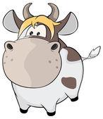 A small cow — Stock Vector