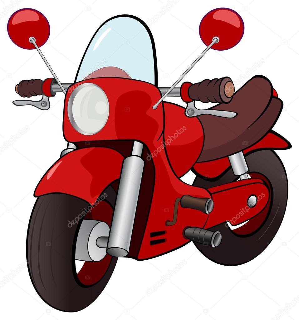 Moto dei cartoni animati — vettoriali stock liusaart