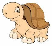 Desenho de tartaruga — Vetor de Stock