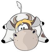 A small cow. — Stock Vector