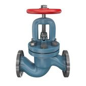 Industrial pipeline valve — Stock Photo