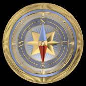 Compass rose — Stock Photo