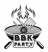 Barbecue-grill — Wektor stockowy