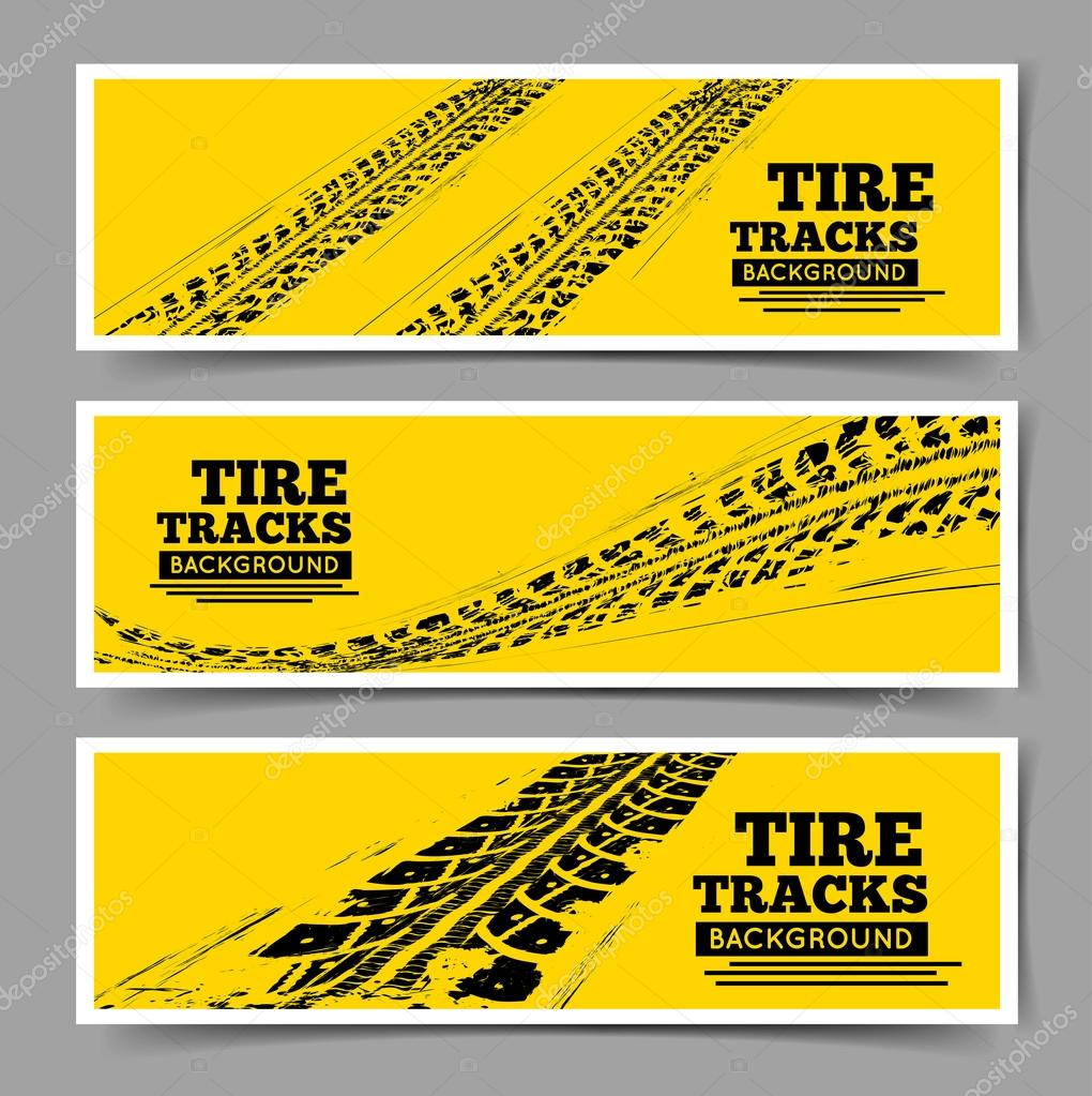 Tractor tire tracks Stock Vectors Royalty Free Tractor