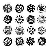 Ethnic handmade ornament for your design — Stock Vector