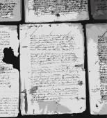 Gamla brev på gamla grunge papper för din design — Stockvektor