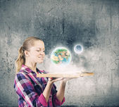 Education advantage — Stock Photo
