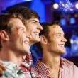 Young men watching match — Stock Photo #52589305