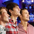 Young men watching match — Stock Photo #52589323