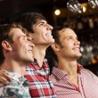 Young men watching match — Stock Photo #52589329