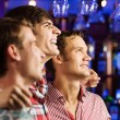 Young men watching match — Stock Photo #52589361