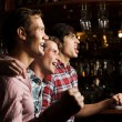 Young men watching match — Stock Photo #52589409