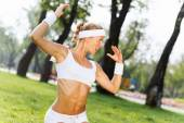 Woman practicing yoga — Stock Photo