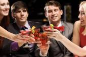 People having cocktail party — Stock Photo