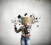 Reading concept — Stock Photo