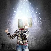 čtení koncept — Stock fotografie