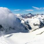 Snowy mountain peak — Stock Photo #53046779