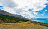 Nový zéland na šířku — Stock fotografie