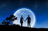 Romantisches date — Stockfoto